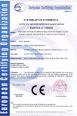 HONRIDA CE certificate